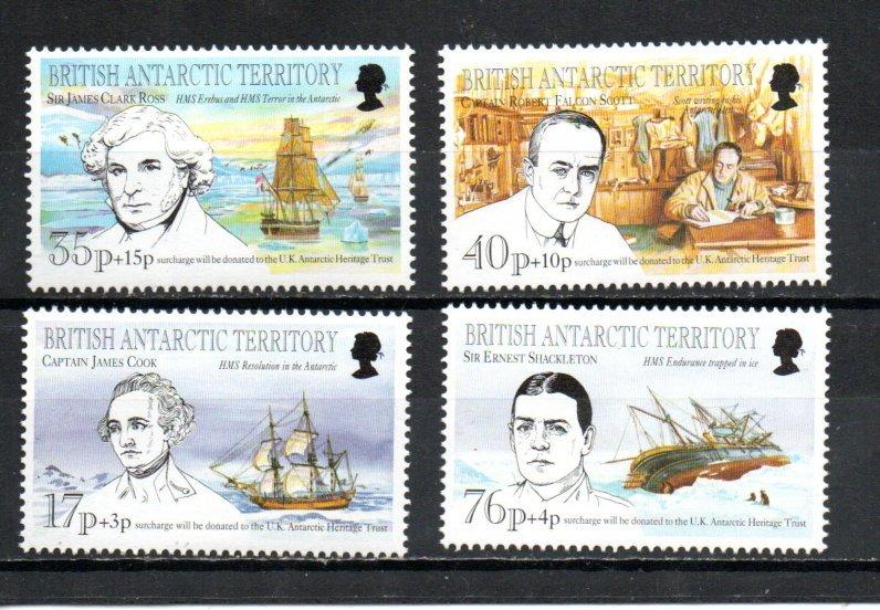 British Antarctic Territory B1-B4 MNH