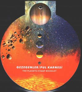 Turkey. 2020. booklet. Solar system, planets, space. MNH.