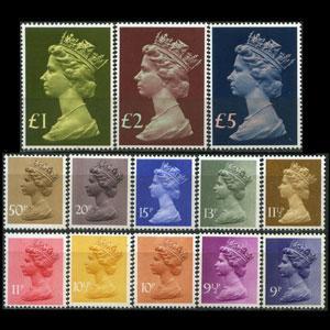 G.B.-MACHINS 1976 - MH67-176(762-75) Queen(SC.762-75) Set...