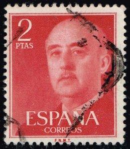 Spain #829 Gen. Francisco Franco; Used (2Stars)