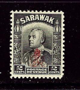 Sarawak 160 MH 1947 overprint