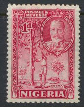 Nigeria  SG 35  SC# 39 MH 1936 issue Cocoa please see scan