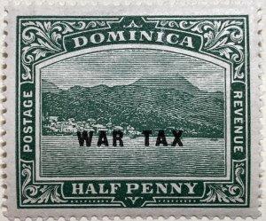 AlexStamps DOMINICA #MR2 SUPERB Mint
