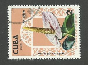 1974 Cuba Scott Catalog Number 1906 Used