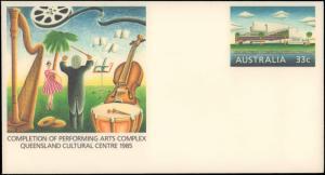 Australia, Music, Postal Stationery