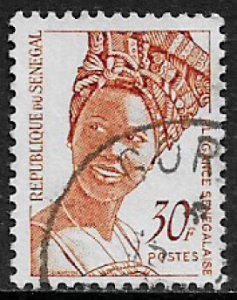 Senegal #567 Used Stamp - Senegalese Fashion