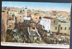 1935 Jerusalem Palestine Picture Postcard Cover To Austria