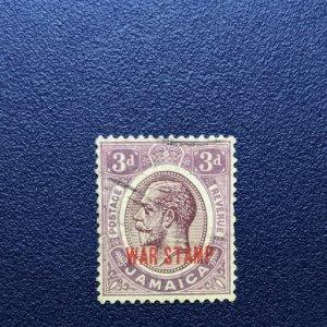 Jamaica MR11 F-VF, CV $3.75