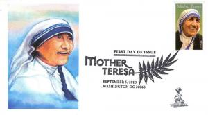 Mother Teresa FDC, from Toad Hall Covers