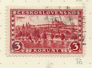 Czechoslovakia 1926-27 Issue Fine Used 3k. NW-148615