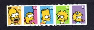 4399-4403 Simpsons 2009 Nice Clean Strip of 5  MNH