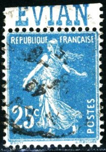 FRANCE #168 , USED - 1906 - FRAN129NS9