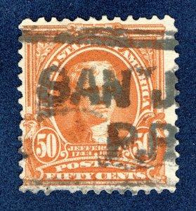[0201] 1903 Scott#310 used in Porto Rico SAN JUAN