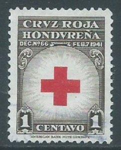 Honduras, Sc #RA4, 1c Used