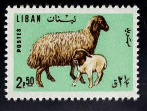 LEBANON Scott 442 MNH** Ewe and Lamb stamp
