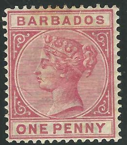 Barbados 61 SG 91 MHR F/VF 1882 SCV $60.00