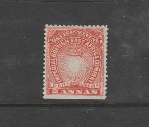 British East Africa, 1890/5 2As MM SG 6