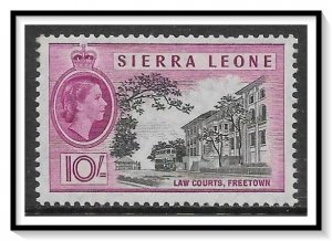 Sierra Leone #206 QE II & Law Courts MNH