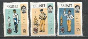 Brunei Scott #165-7*nh nh (1971)