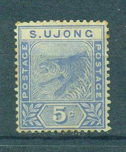 Malaya - Sungei Ujong sc# 33 mh cat value $6.50