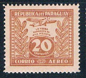 Paraguay C67 MNH Yerba Mate 1931 (P0299)+