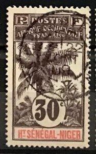 Upper Senegal & Niger #9 Used CDS SOTN CV$5.50 Oil Palms