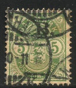 Denmark 1884-88 Scott# 38 Used