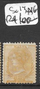 MALTA  (P2511B) QV 1/2D  SG 14  MNG