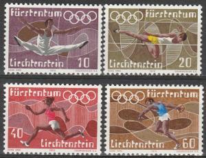 Liechtenstein #496-9   MNH  (S9805)