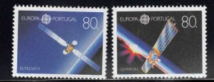 PORTUGAL Scott 1859, 1860a MNH** Europa 1991 set