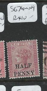 MAURITIUS   (PP2107B) QV 1/2D/10D SG 74  MNG