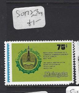 MALAYSIA (P3008B)  SG  172-3    MOG