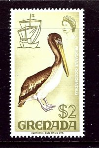 Grenada 307 MLH 1968 Pelican    (ap3519)