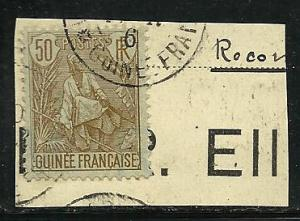 French Guinea # 28 Used.
