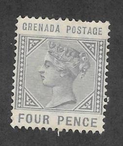 GRENADA Scott #23 Mint 4p Queen Victoria 2015 CV $11.00