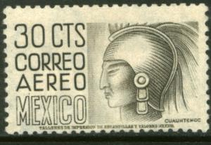 MEXICO C190, 30c 1950 Definitive FIRST PRINTING wmk 279 MINT, NH. F-VF.