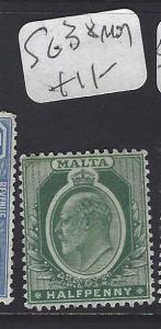 MALTA (P0710B)  KE  1/2D   SG 38  MOG