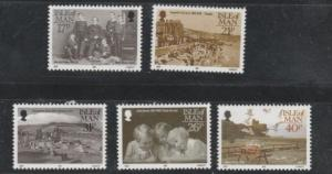 Photographer Images Stamps Of Isle Of Man # 440-444 MNH, #M938