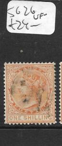 LAGOS   (P1305B) QV  1/-  SG 26   VFU