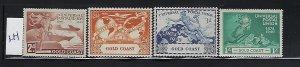 GOLD COAST  SCOTT #144-147 1949 UPU ISSUE- MINT  LIGHT HINGED