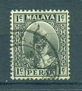 Malaya - Perak sc# 84 used cat value $.25
