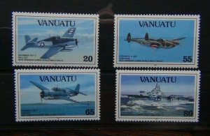 Vanuatu 1992 50th Anniversary of the outbreak of the Pacific War 1st Issue LMM