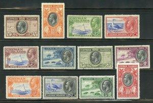 CAYMAN ISLANDS  SCOTT# 85/96 MINT HINGED--SCOTT VALUE $255.60