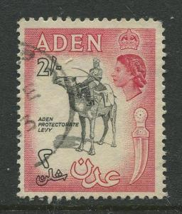 STAMP STATION PERTH Aden #57A - QEII Definitive Issue 1953-59  Used  CV$0.60.