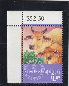 Cocos Islands  Scott#  321  MNH