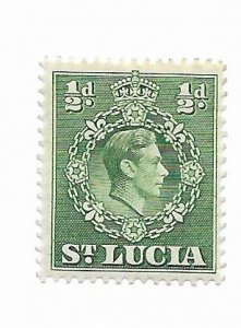 St. Lucia #110 MH - Stamp - CAT VALUE $1.10