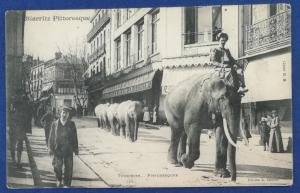 France Postcard With Stamp Postmarked 1906 (HP6)