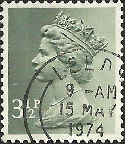 GREAT BRITAIN - MH39 - Used - SCV-0.40