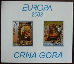 MONTENEGRO - BLOCK 2003 - MNH - PRIVATE ISSUE! crna gora yugoslavia J15