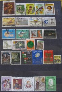 Colombia 28 Different Air Mail
